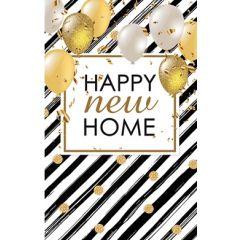 felicitatiekaart  nieuwe woning - happy new home - ballonnen