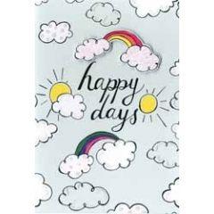 wenskaart hello you - happy days