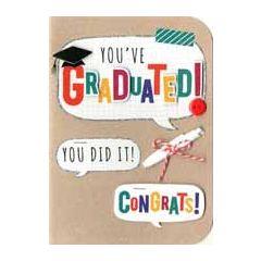 geslaagd wenskaart - you have graduated