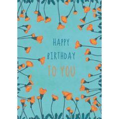 ansichtkaart katja kaduk - happy birthday to you