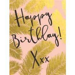 verjaardagskaart  piano small notecards - happy birthday xxx