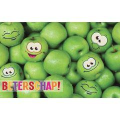 beterschapskaart - beterschap! - appels
