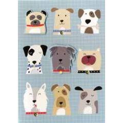 wenskaart - honden