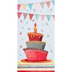 felicitatiekaart - cadeau envelop - cupcake