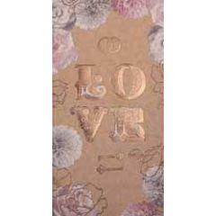 trouwkaart - cadeau envelop - love