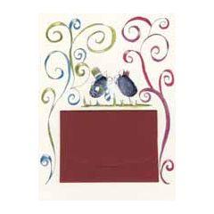 trouwkaart met cadeau envelop klara de kraai