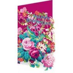 laser gesneden verjaardagskaart roger la borde - happy birthday - bloemen rozen