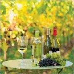 verjaardagskaart - wijn