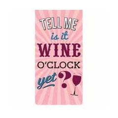 magnetische boekenlegger - is it wine o'clock yet