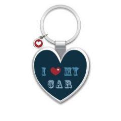 sleutelhanger - I (hart) my car