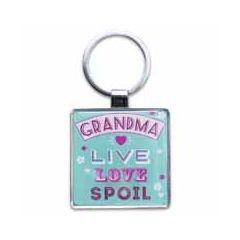 sleutelhanger -  grandma live love spoil