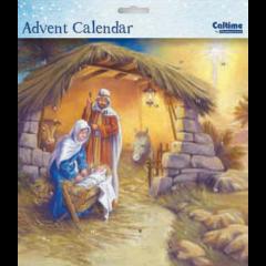adventskalender met envelop - rondom de kribbe