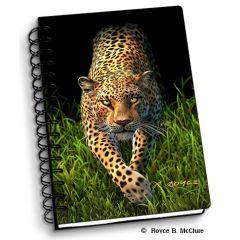 notitieboek 3D - luipaard