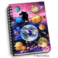 notitieboek 3D - planeten