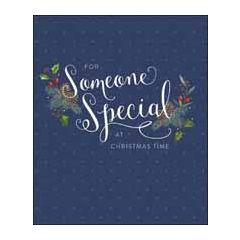 grote kerstkaart woodmansterne - for someone special at christmas time