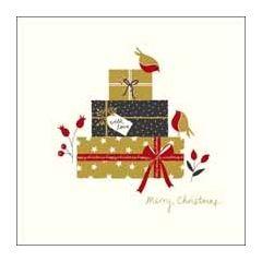 luxe kerstkaart woodmansterne - merry christmas - cadeau