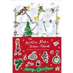 adventskalender a4+ met stickers - quentin blake