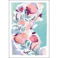 wenskaart woodmansterne rosella - bloemen