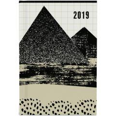 2019 mini of kleine zakagenda  - geometrische bergen