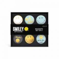 6 magneten - smiley