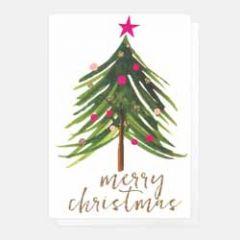 5 kerstkaartjes caroline gardner - merry christmas - kerstboom