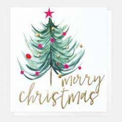 5 luxe kerstkaarten caroline gardner - merry christmas - kerstboom