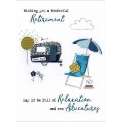 wenskaart pensioen - wishing you a wonderful retirement
