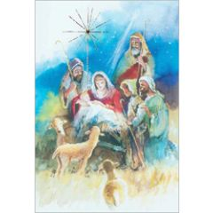 6 christelijke kerstkaarten busquets - 5