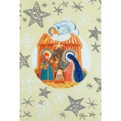 6 christelijke kerstkaarten busquets - 2
