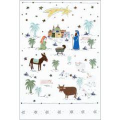 6 christelijke kerstkaartjes busquets - 7