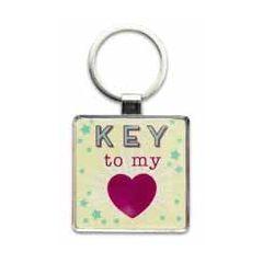 sleutelhanger - key to my (hart)