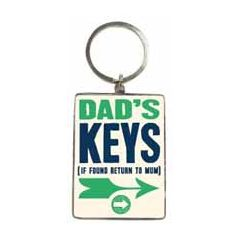 sleutelhanger -  dad s keys - if found return to mum