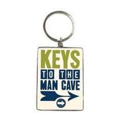 sleutelhanger - keys to the man cave