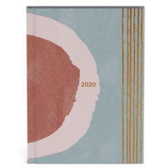 agenda 2020 - cirkels - rosegold folie