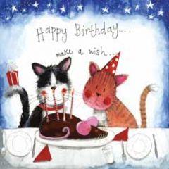 wenskaart alex clark - happy birthday