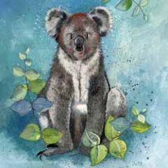 wenskaart alex clark - koala