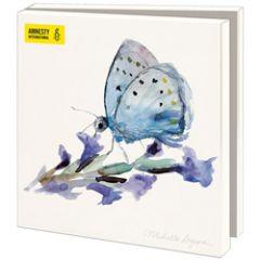 10 wenskaarten voor amnesty international - vlinders