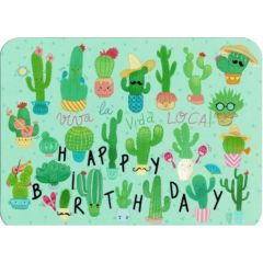 ansichtkaart correspondances - viva la vida loca! - cactussen
