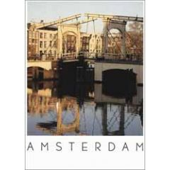 ansichtkaart - amsterdam magere brug