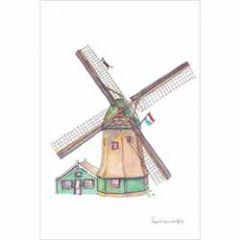 ansichtkaart nederland - molen