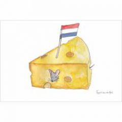 ansichtkaart nederland - kaas