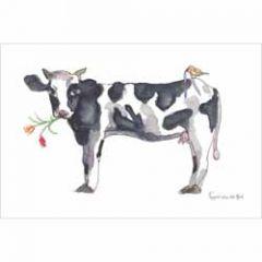 ansichtkaart nederland - koe