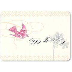 ansichtkaart susi winter - happy birthday