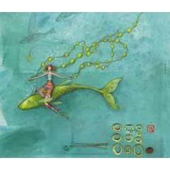 ansichtkaart met envelop - gaelle boissonnard - vis