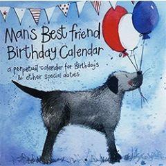 alex clark  -  verjaardagskalender - man s best friend - honden