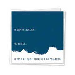 beterschapskaart - kaarten van betekenis - ik hoorde dat je ziek bent