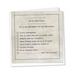 wenskaart sterkte - kaarten van betekenis - dit is een tegoedbon voor (jij mag kiezen) - grijs