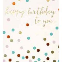verjaardagskaart caroline gardner spot on - happy birthday to you