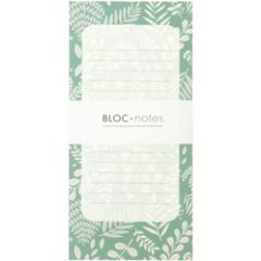 notitieblok bloc-notes mini labo - botanic