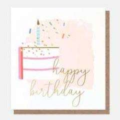 verjaardagskaart caroline gardner - happy birthday - gebak